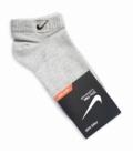 جوراب مچی طرح Nike خاکستری