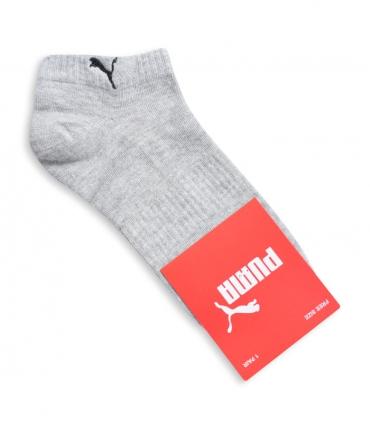 جوراب مچی طرح PUMA رو پا کش خاکستری
