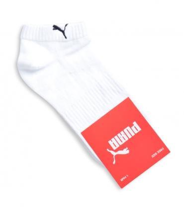 جوراب مچی طرح PUMA رو پا کش سفید
