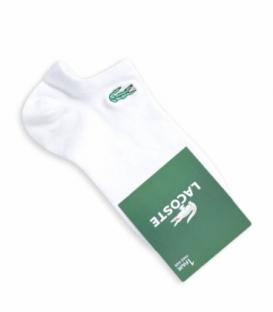 جوراب قوزکی طرح LACOSTE سفید