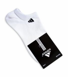 جوراب قوزکی طرح adidas سفید