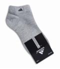 جوراب مچی طرح adidas خاکستری