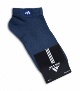 جوراب مچی طرح adidas آبی نفتی