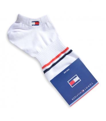 جوراب مچی طرح Tommy سفید