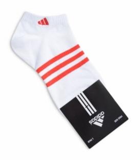 جوراب مچی طرح adidas سفید قرمز