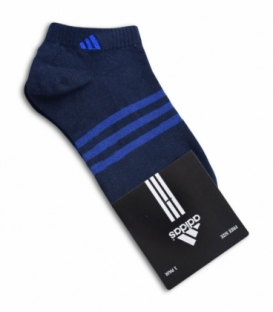 جوراب مچی طرح adidas سرمهای آبی