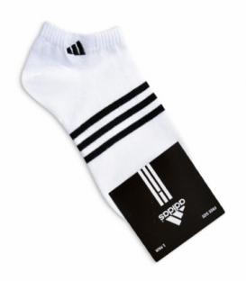 جوراب مچی طرح adidas سفید مشکی