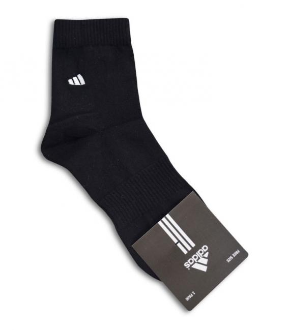 جوراب نیم ساق طرح adidas مشکی