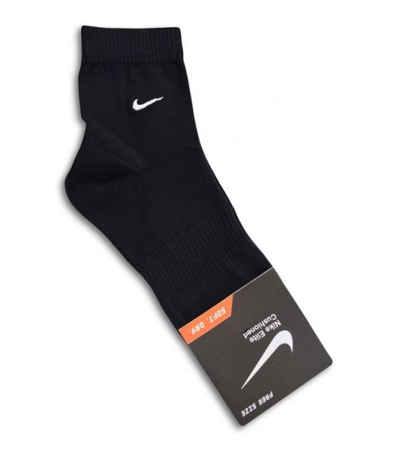 جوراب نیم ساق طرح Nike مشکی