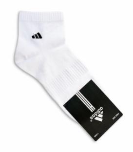 جوراب نیم ساق طرح adidas سفید