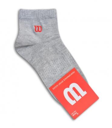 جوراب نیم ساق طرح Wilson خاکستری