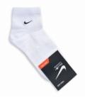 جوراب نیم ساق طرح Nike سفید