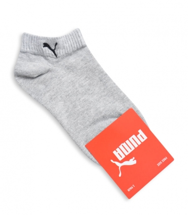جوراب مچی طرح PUMA خاکستری