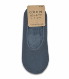 جوراب تو کرکی کالج ساده خاکستری