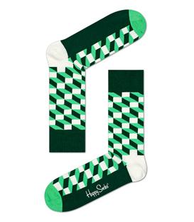 جوراب Happy Socks هپی ساکس طرح FILLED OPTIC