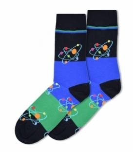 جوراب ساقدار Ekmen طرح هسته اتم مشکی