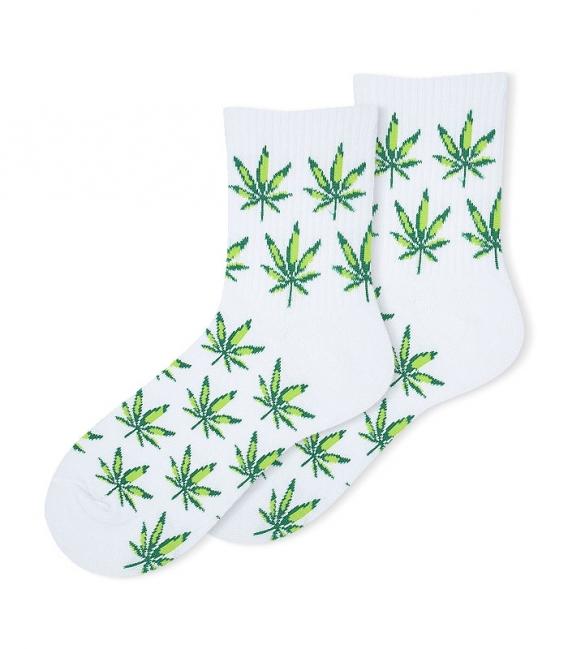 جوراب نیم ساق Ekmen طرح پرواز سفید سبز