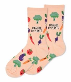 جوراب ساقدار Ekmen اکمن طرح سبزیجات گلبهی