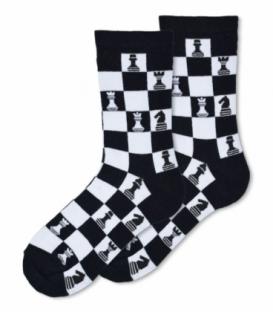جوراب ساقدار Ekmen اکمن طرح شطرنج مشکی
