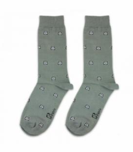 جوراب ساقدار نانو پاتریس طرح جیپ سدری