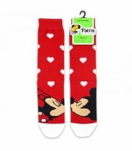 جوراب ساقدار پاتریس طرح بوسه قرمز