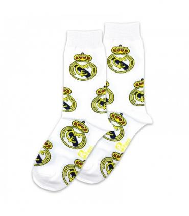 جوراب ساقدار پاتریس طرح رئال مادرید سفید