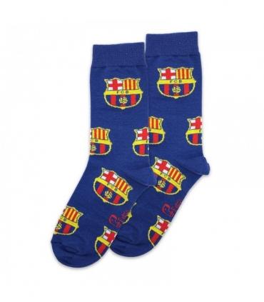 جوراب ساقدار پاتریس طرح بارسلونا آبی