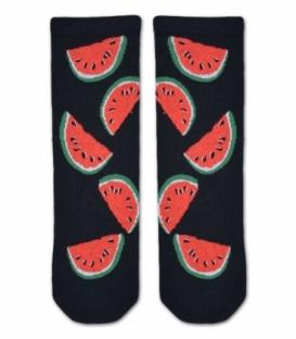 جوراب ساقدار Ekmen اکمن طرح هندوانه مشکی