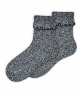 جوراب نیم ساق Ekmen اکمن طرح لمه مشکی