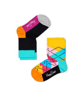 دو جفت جوراب Happy Socks هپی ساکس طرح ARGYLE