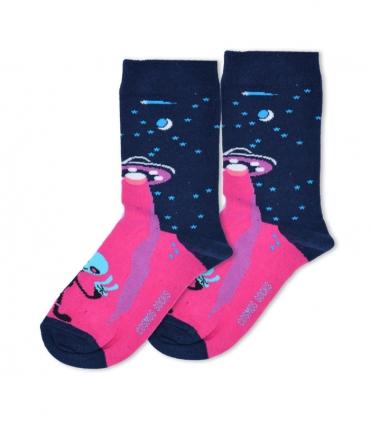 جوراب ساقدار Cosmos کازموس طرح الین سرمهای