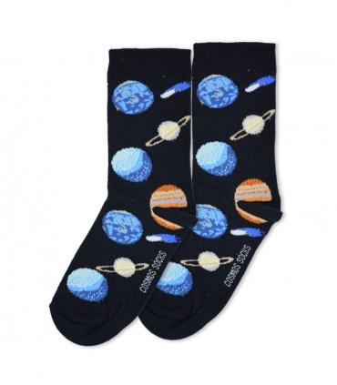 جوراب ساقدار Cosmos کازموس طرح کهکشان مشکی