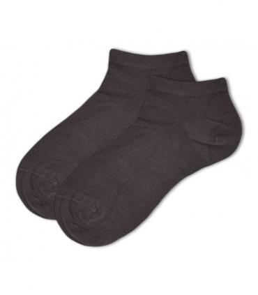 جوراب بامبو مچی Ekmen طرح ساده قهوهای