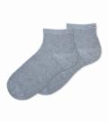 جوراب بامبو نیم ساق Ekmen اکمن ساده خاکستری