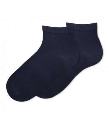 جوراب بامبو نیم ساق Ekmen طرح ساده نوک مدادی