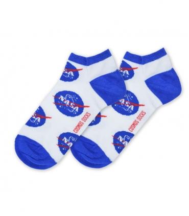 جوراب مچی Cosmos کازموس طرح NASA سفید
