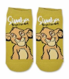 جوراب مچی طرح Simba خردلی