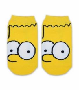 جوراب مچی طرح بارت زرد