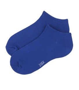 جوراب مچی نخی برند دوک رنگ آبی کاربنی