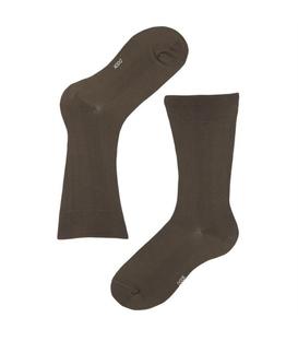 جوراب مردانه ساقدار نخی برند دوک رنگ سبز لجنی