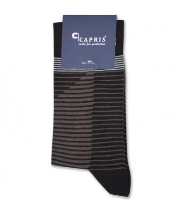 جوراب کلاسیک ساقدار Capris کاپریس کد 07 قهوهای