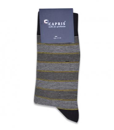 جوراب کلاسیک ساقدار Capris کاپریس کد 09 قهوهای