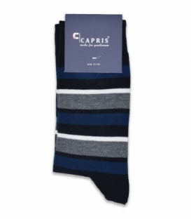 جوراب کلاسیک ساقدار Capris کاپریس کد 16 مشکی سرمهای