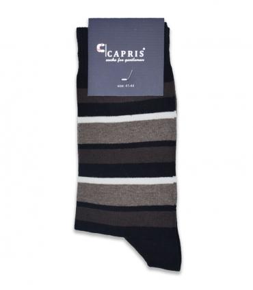 جوراب کلاسیک ساقدار Capris کاپریس کد 16 مشکی قهوهای