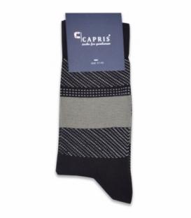 جوراب کلاسیک ساقدار Capris کاپریس کد 47 قهوهای