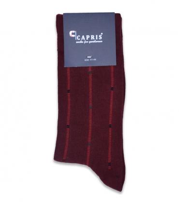 جوراب کلاسیک ساقدار Capris کاپریس کد 48 زرشکی