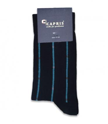 جوراب کلاسیک ساقدار Capris کاپریس کد 48 مشکی آبی