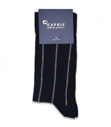 جوراب کلاسیک ساقدار Capris کاپریس کد 48 مشکی خاکستری
