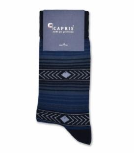 جوراب کلاسیک ساقدار Capris کاپریس کد 49 مشکی سرمهای