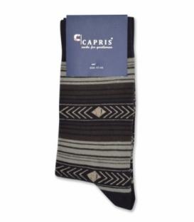 جوراب کلاسیک ساقدار Capris کاپریس کد 49 قهوهای